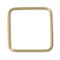 14Kt Gold-filled Closed Square Ring 18 mm x1