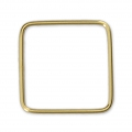 14Kt Gold-filled Closed Square Ring 16 mm x1