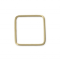 14Kt Gold-filled Closed Square Ring 10 mm x1