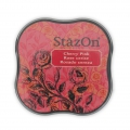 Stazon Midi Ink Pad - Fast drying ink - Cherry Pink x1