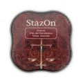 Stazon Midi Ink Pad - Fast drying ink - Claret x1