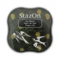 Stazon Midi Ink Pad - Fast drying ink - Jet Black x1