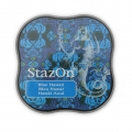 Stazon Midi Ink Pad - Fast drying ink - Blue Hawaii x1