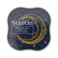 Stazon Midi Ink Pad - Fast drying ink - Midnight Blue x1