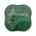 Stazon Midi Ink Pad - Fast drying ink - Emerald City x1