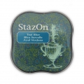 Stazon Midi Ink Pad - Fast drying ink - Teal Blue x1