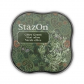 Stazon Midi Ink Pad - Fast drying ink - Olive Green x1