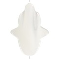 Mother of pearl Hand of Fatma 16.5x12 mm Natural x1