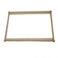 Rectangular wooden frame for embroidery, punch needle or tapestry - 40x60 cm x1