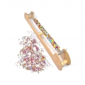 Beading loom for long DIY jewelry creations x1