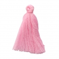 Imitation cotton tassel 27-30 mm Candy Pink x1