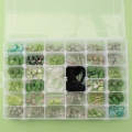 Assortment By Perles & Co - Beads and Accessories for DIY jewelry creation - Green