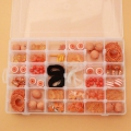Assortment By Perles & Co - Beads and Accessories for jewelry creation - Orange