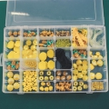 Assortment By Perles & Co - Beads and Accessories for jewelry creation - Yellow