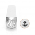 ImpressArt metal design stamps - 6 mm - Anchor x1
