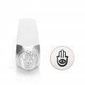 ImpressArt metal design stamps - 6 mm - Fatma Hand x1