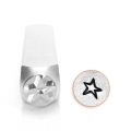 ImpressArt metal design stamps - 6 mm - Star x1