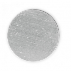 25 mm aluminum circle - Premium Stamping Blanks x1