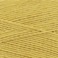 Reel of waxed linen thread 0.7 mm Yellow nr7 x 100 gr