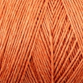 Reel of waxed linen thread 0.7 mm Orange nr8 x 100 gr