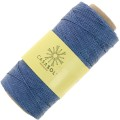 Reel of waxed linen thread 0.7 mm Baby Blue nr17 x 100 gr