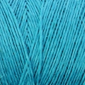 Reel of waxed linen thread 0.7 mm Turquoise nr18 x 100 gr