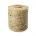 Reel of European made linen thread 2.5 mm Natural x 400 gr