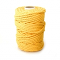 Cord for macrame 4.5 mm Yellow x 700g