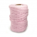 Cord for macrame 4.5 mm Candy Pink x 700g