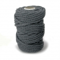 Cord for macrame 4.5 mm Anthracite grey x 700g
