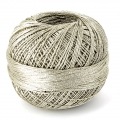 Liz Metallic yarn size 20 Light Gold nr 326 x146m