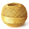 Liz Metallic yarn size 20 Gold nr 310 x146m