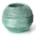 Liz Metallic yarn size 20 Sea Foam nr 322 x146m