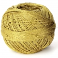 Liz Metallic yarn size 20 Antique Gold nr 328 x146m