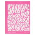 Silk Screen by Helen Breil for polymer clay 95x130 mm - Nouveau