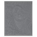 Clay Texture sheet Helen Breil for polymer clay 10.5x13 cm Tango