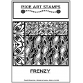 Clay Texture sheet for polymer clay 10.5x13 cm Frenzy