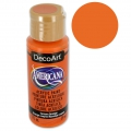 Acrylic paint high quality - DecoArt Americana - Canyon Orange x59 ml