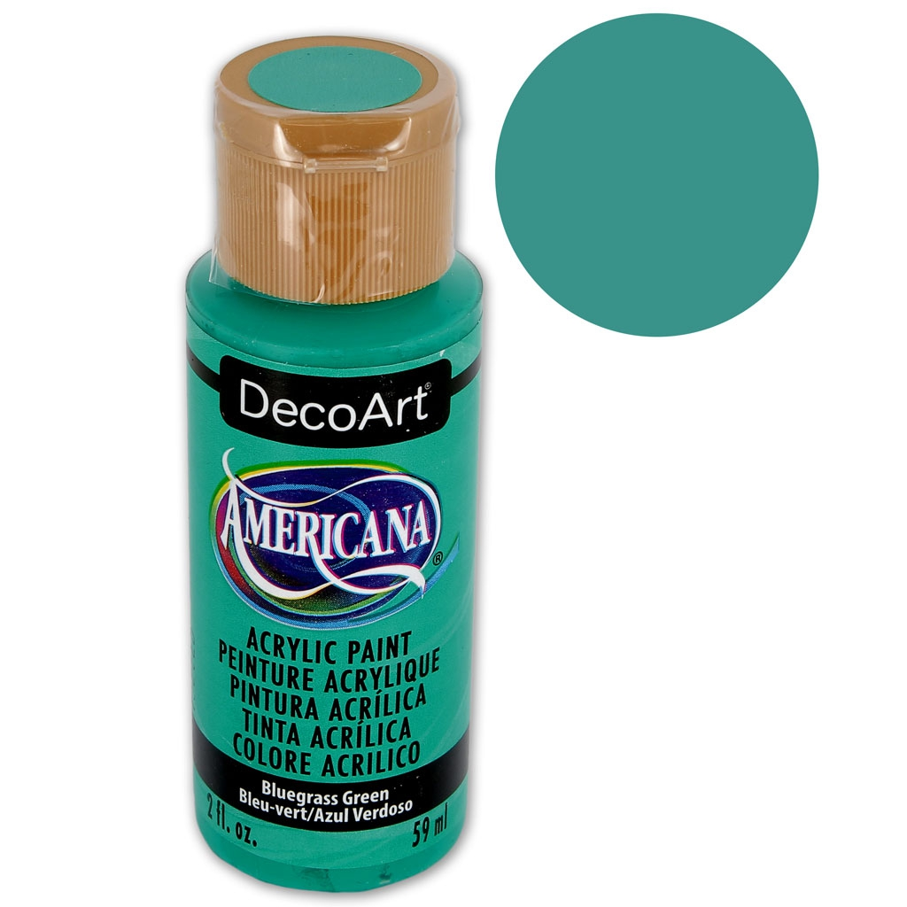 Acrylic Paint High Quality Decoart Americana Bluegrass