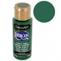 Acrylic paint high quality - DecoArt Americana - Forest Green x 59ml