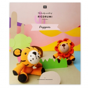 The Lovely World Of Ricorumi 9 Amigurumis Characters Puppies Book In French