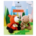 The lovely world of Ricorumi - 6 amigurumis characters - Friends BOOK IN FRENCH