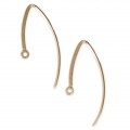Earwires 29 mm - 14Kt Gold-filled x2