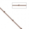 Belcher chain with round beds 2.00 mm Rose Gold Tone x1m