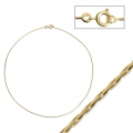 Round brass cobra choker covered 1.10 mm - Gold Plated 3 microns x1