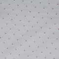 Cotton fabric - Stripes and triangles - Blue and Red x10cm
