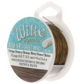 Craft Wire flexible copper wire 0.32 mm Vintage bronze Tone x 36 m