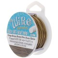 Craft Wire flexible copper wire 0.81 mm Vintage bronze Tone x 9.14 m