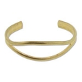 Raw brass bracelet to customize 20x150 mm x1
