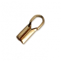 Terminator 8.5x2.10mm for 1.5 mm cord - Gold Plated 3 microns x1